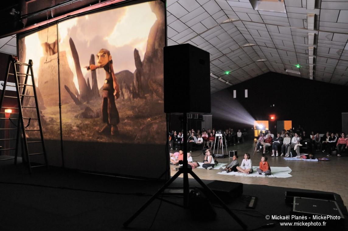 Projection cinéma public, Migné-Auxances