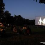 Projection cinéma en plein air, Migné-Auxances